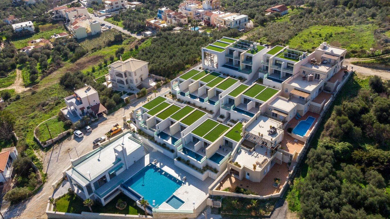 hotel construction in Crete- Construction company Kyriakidis