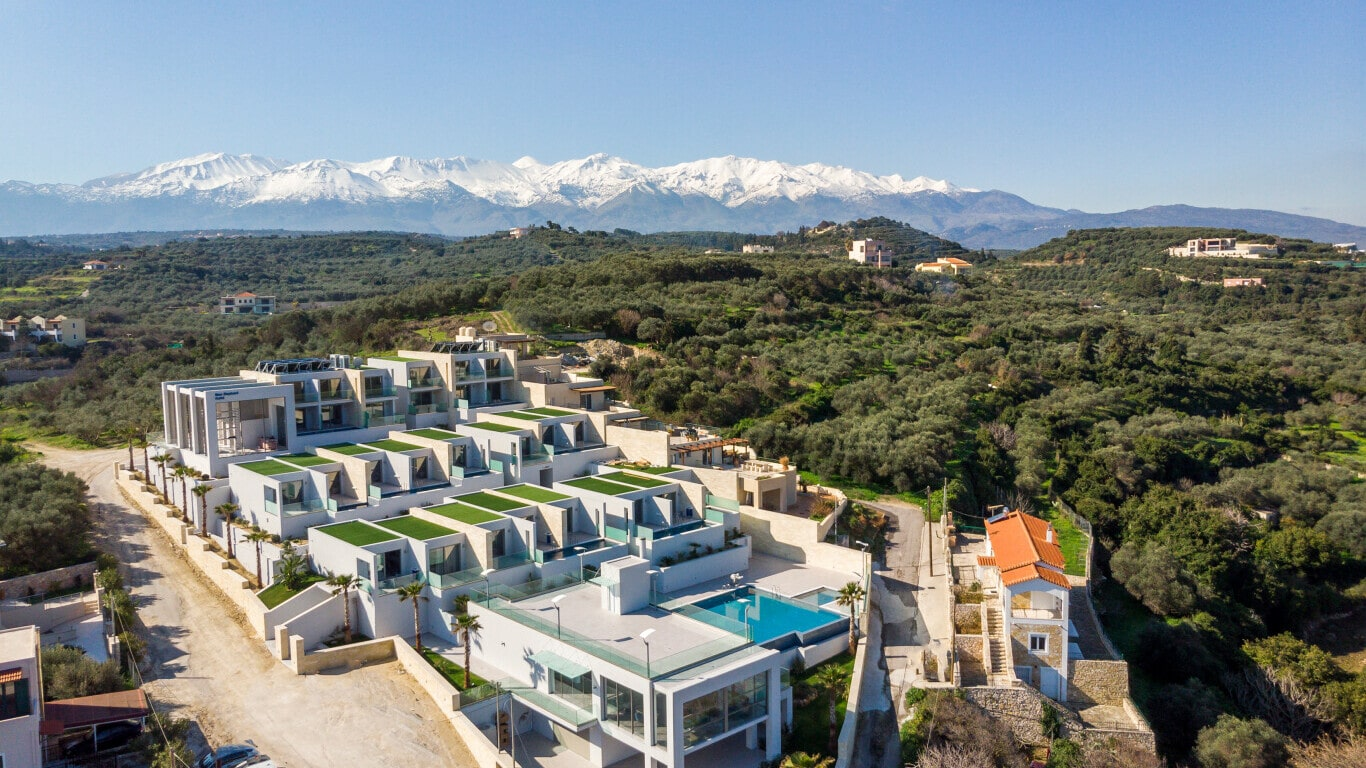 hotel complex constructions in Crete- Kyriakidis Construction Group