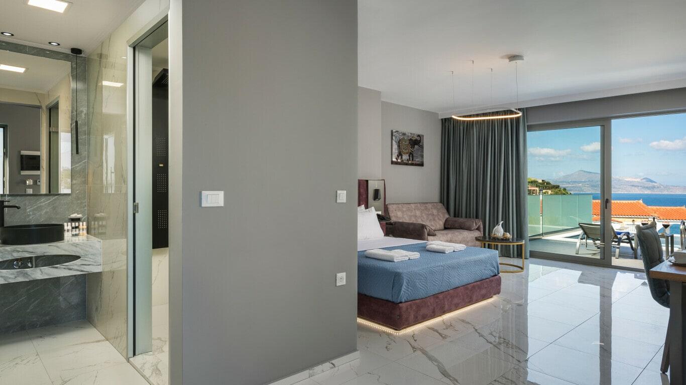 luxury hotel rooms construction- Kyriakidis Group