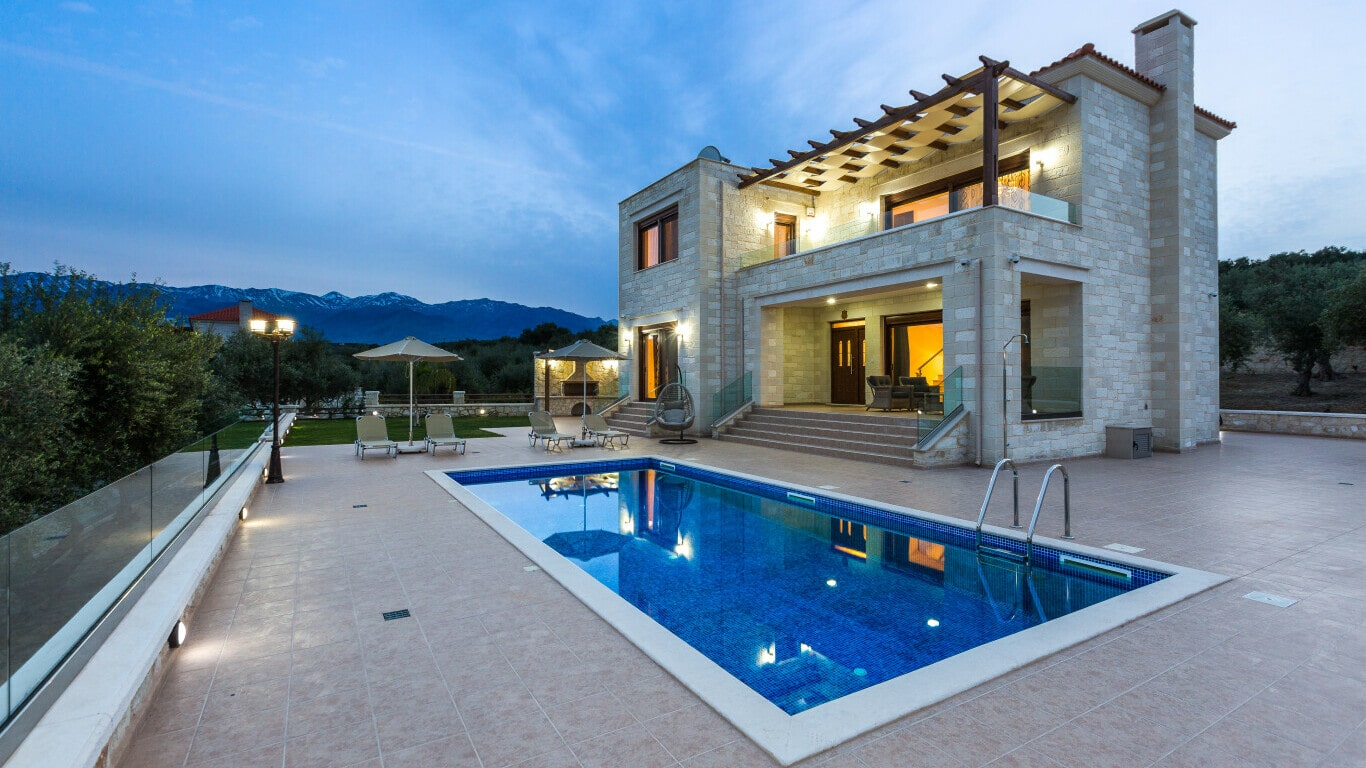 House with pool for sale in Chania- New villas with pool in Chania Crete