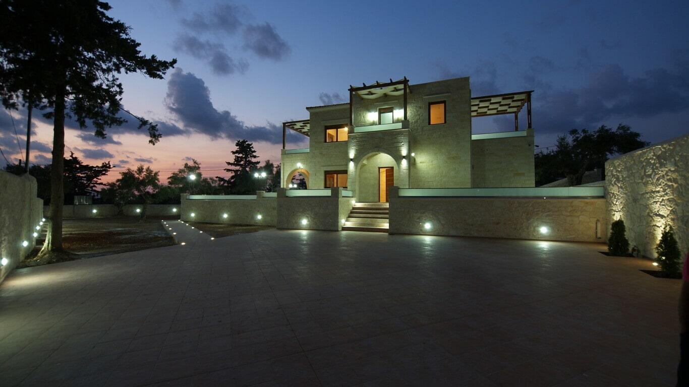 luxury villa in Chania- villas for families
