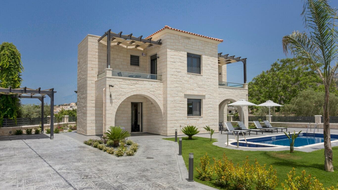 traditional cretan homes for sale or construction- kyriakidis construction company Chania