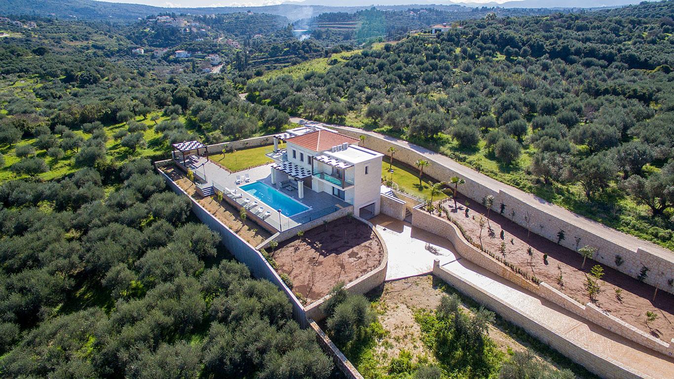 Helios Luxury stone villa