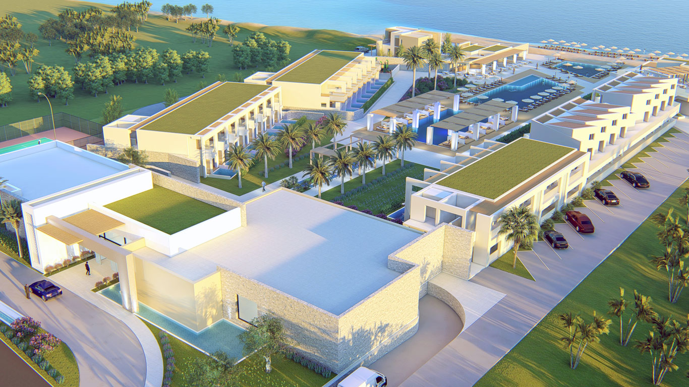 hotels for sale gerani beach resort Chania