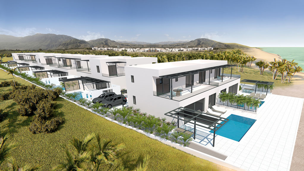 villas for rent and investment in Crete- Blue Marine Complex