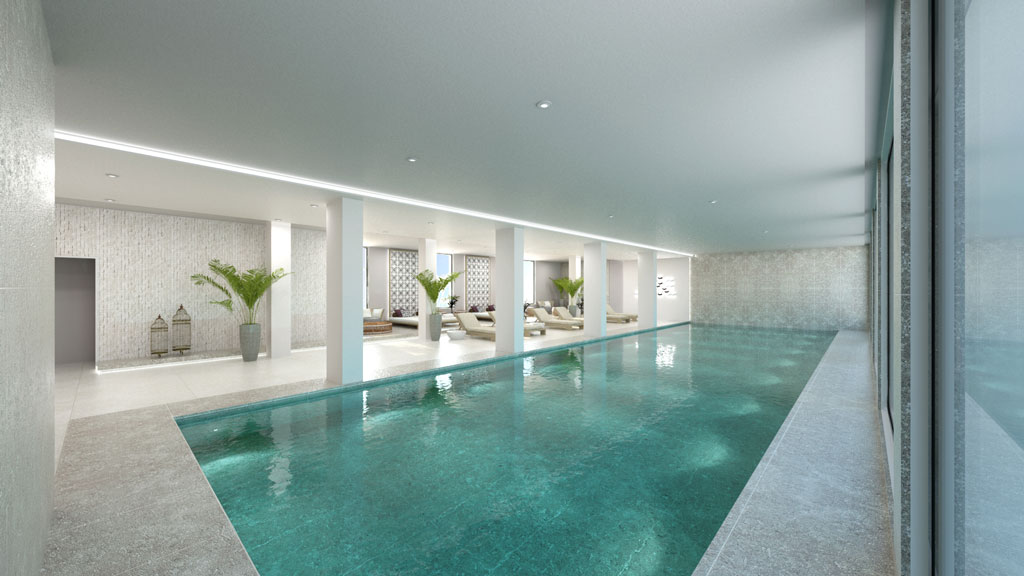Gerani Beach Resort- Interior Swimming Pool