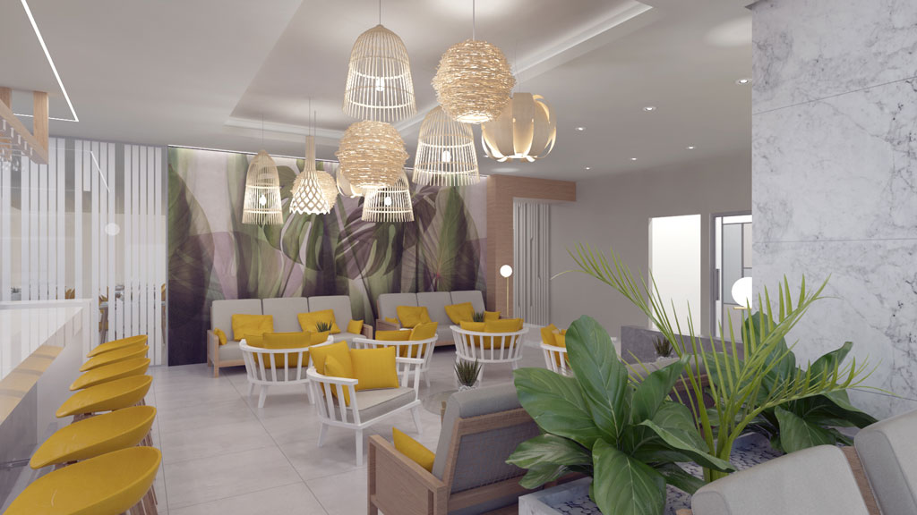 Gerani Beach Resort for sale in Chania - Reception Area