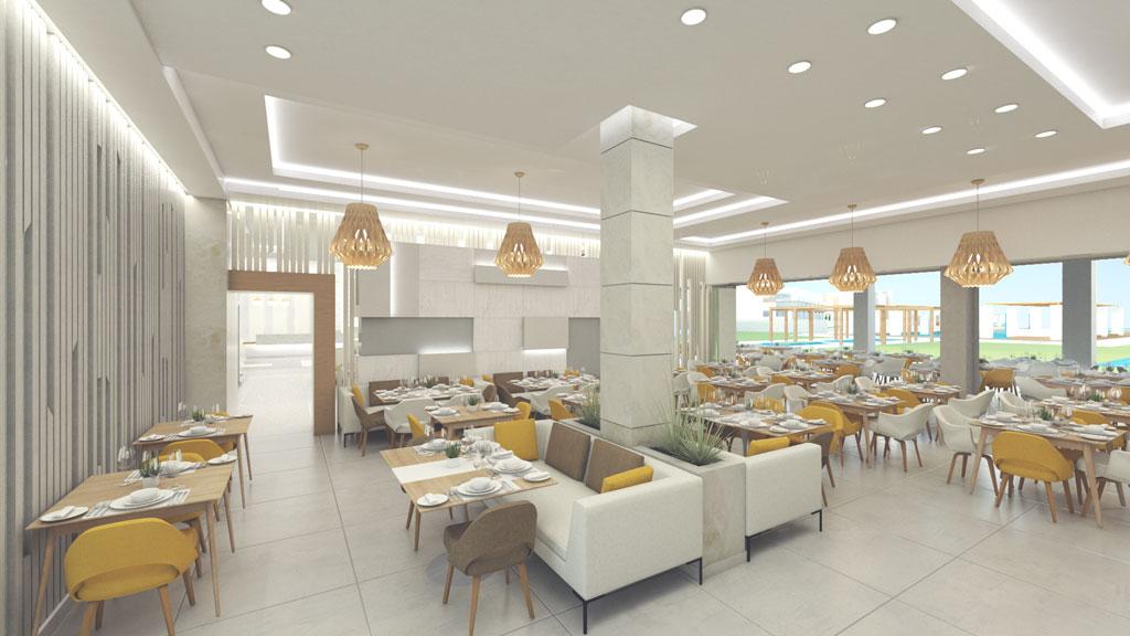 Gerani Beach Resort for sale in Chania - Breakfast Area