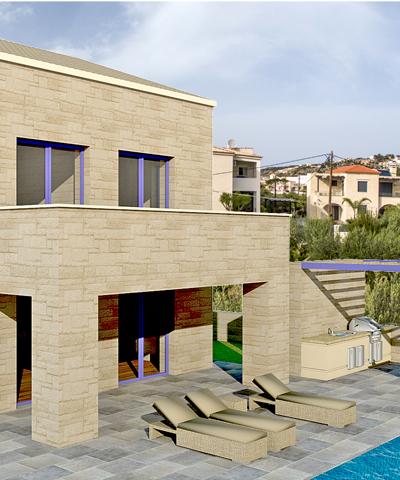 Πέτρινες Βίλες Χανιά Κρήτη- Πωλήσεις και κατασκευή πέτρινων βιλών και κατοικιών. Κατασκευαστική εταιρεία Κυριακίδης