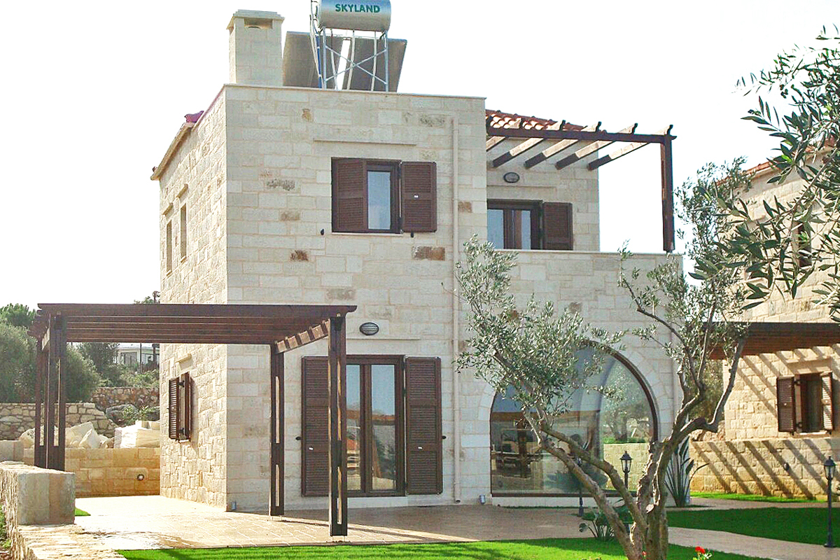 Homes & Villas for sale in Chania. Luxury Construction Company Kiriakidis