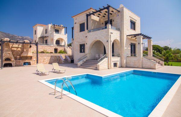Stone villas in Greece- Chania- Crete: Kyriakidis Construction Company Chania