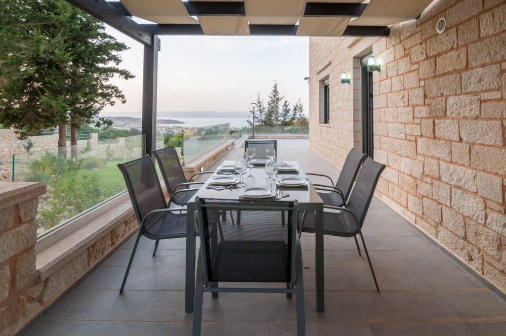 Stone Villa in Chania Crete: Kyriakidis Construction Company Chania- Build your dream home in Crete