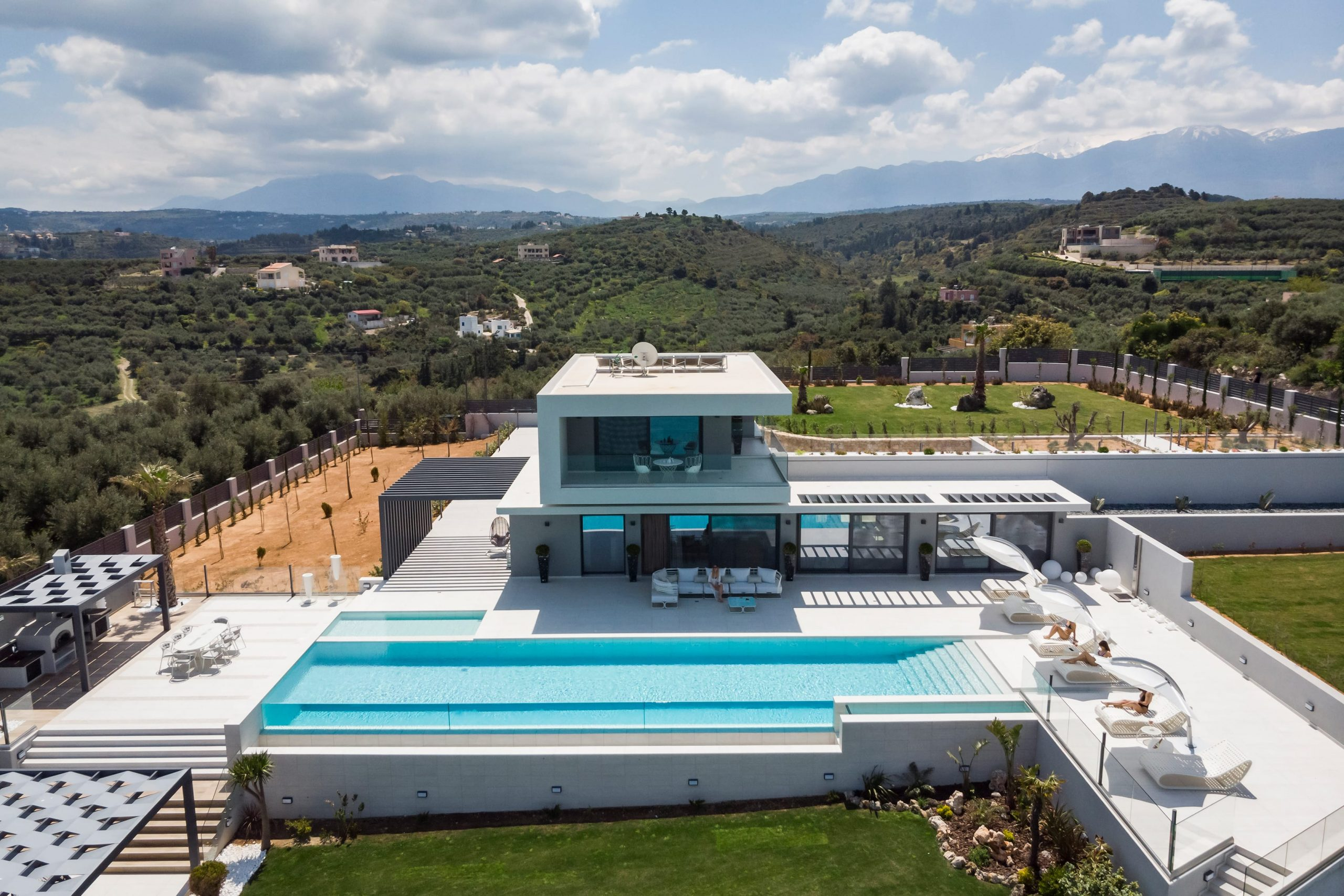 Villas in Chania- Luxury stone houses in Chania Crete