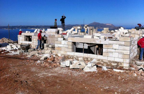 κατασκευή σπιτιού στην Κρήτη- Κατασκευές στα Χανιά- Κατασκευαστική Εταιρεία Κυριακίδης